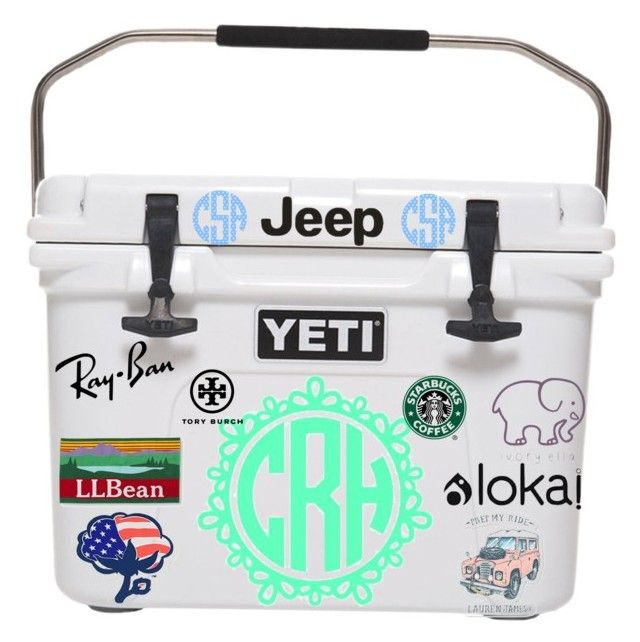"""Yeti cooler contest!"" by raquate1232 ❤ liked on Polyvore featuring Ray-Ban, L.L.Bean, Southern Proper, Tory Burch and gracesyeticooler"