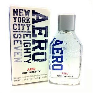 Aero New York 1987 1.7 oz / 50 ml Cologne Pour Garcons Men New In BOX by Aeroposotale. $24.30. Aero New York 1987 Cologne. 1.7 ounce New In Box. Cologne for Guys Spray. This is an authentic, new, and unused bottle of Aeropostale's best selling men's cologne, New York City! . It is the 1.7 fl oz bottle.