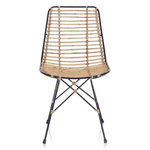 Stuhl, Bambus/Metall bei Impressionen 180€