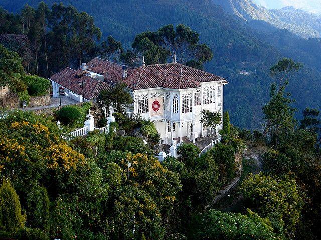 Bogotá - Santa Clara Restaurant in Monserrate hill