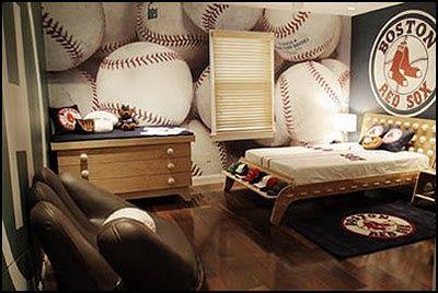 baseball bedroom | fabuloushomeblog.comfabuloushomeblog.com