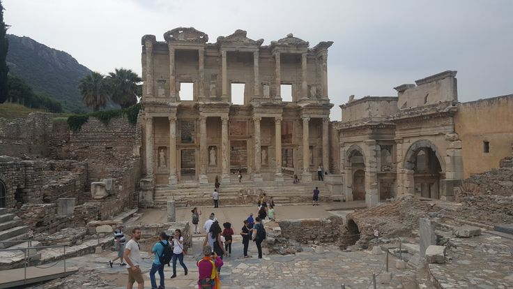 Celsus Kütüphanesi, Efes Library of Celsus, Ephesus