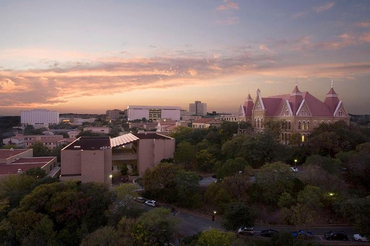 Texas State University - such a pretty campus!