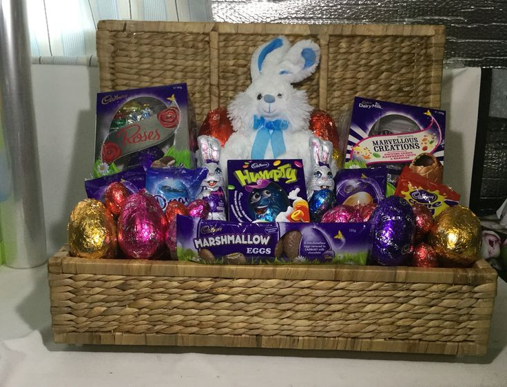 24 best hampers images on pinterest baskets hampers and wheelbarrow easter basket negle Choice Image