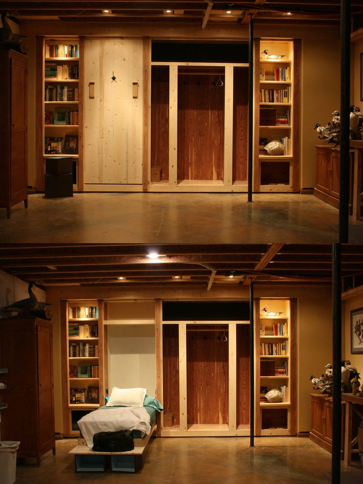 Awesome murphy beds good image of great murphy bunk beds for Murphy garage doors
