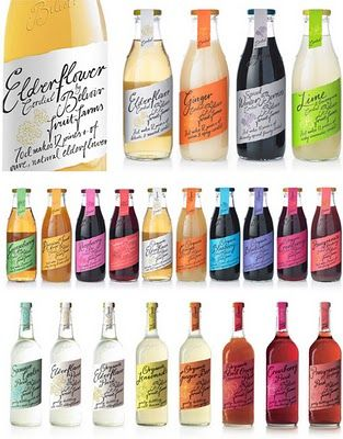 Blossom Style Inspiration: Graphic, Web, Fashion, Interior and Object Design: Beverage Packaging with Feminine Appeal