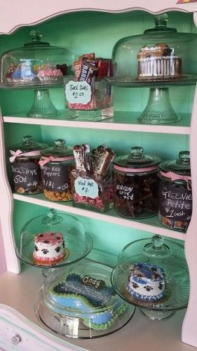 Visitors can buy treats for either their own animals or to share with shelter pets