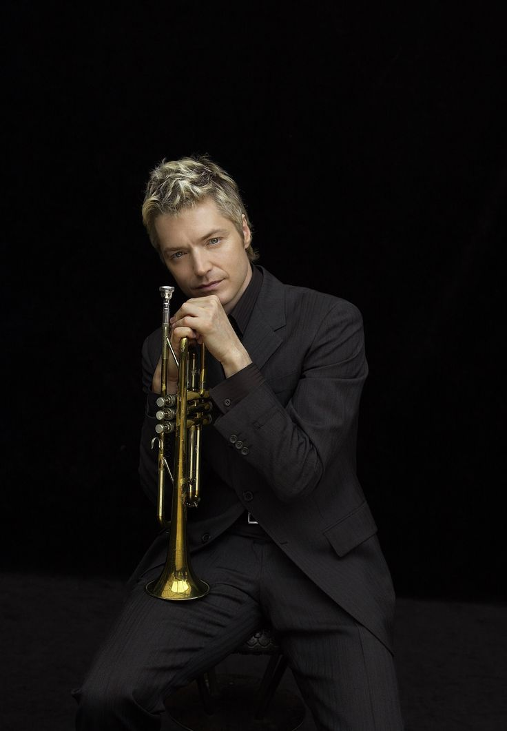 Chris Botti has an amazing tone in his playing, and great style sense.