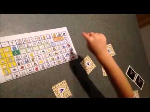 Aided Language Stimulation During a Game Using Low-Tech Tools