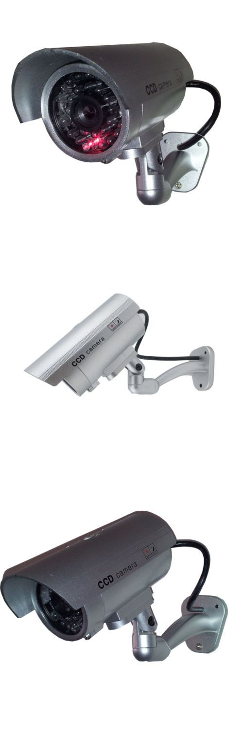 Dummy Cameras: 8X Outdoor Dummy Security Camera Fake Flashing Infrared Bullet Cctv Surveillance -> BUY IT NOW ONLY: $37.99 on eBay!