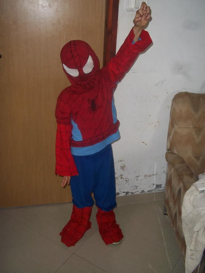 Homemade Spiderman Costume Instructions- Tutorial | Penniless Parenting