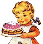 Pubblicità del lievito Bertolini... la dolce Mariarosa