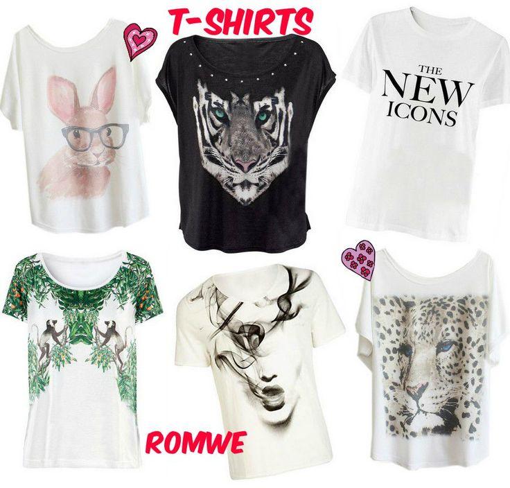 Flash Sale Romwe: T-shirts