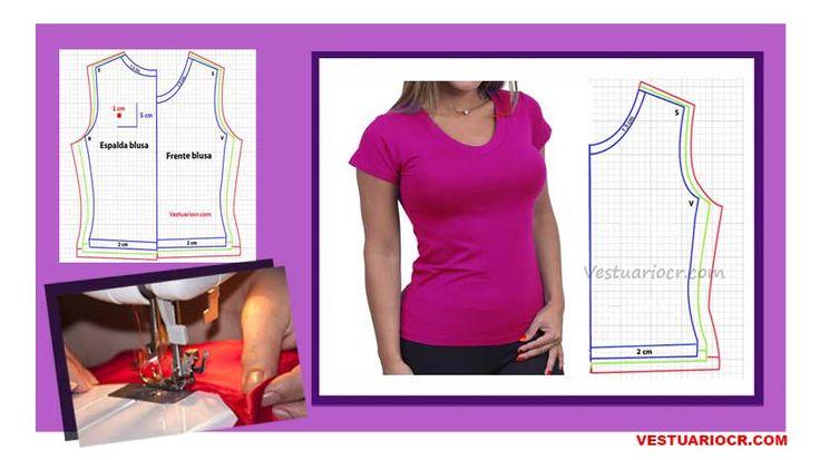 Patrones para mujer | Cose tu ropa en casa -descarga todos nuestros moldes gratis.