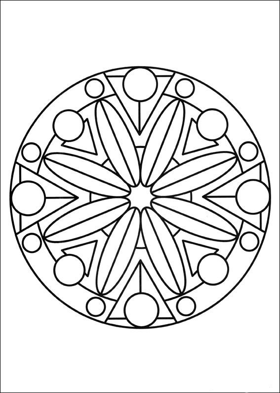 mandalas coloring pages 61