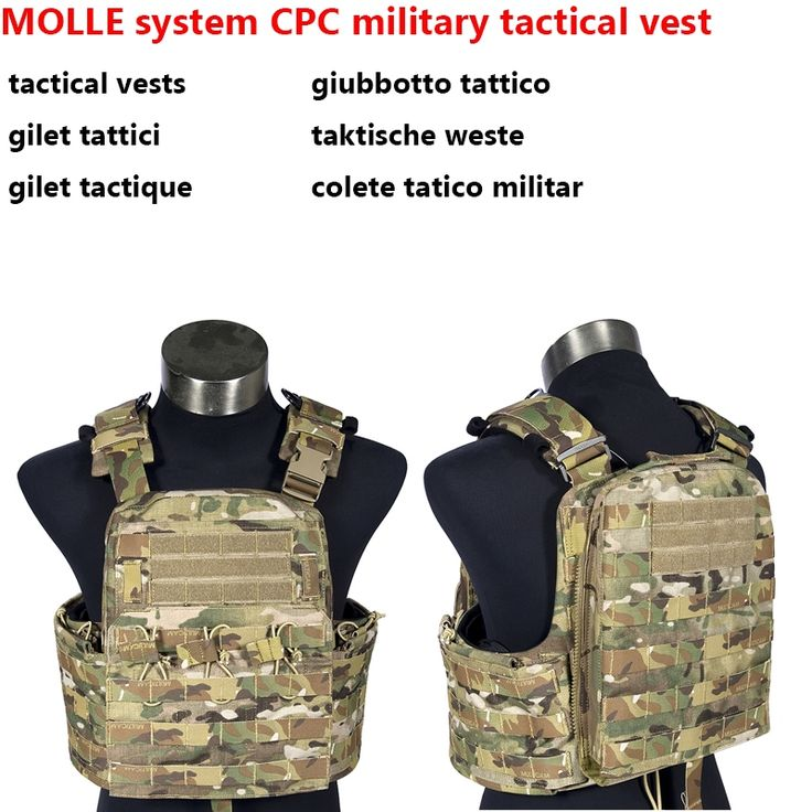 369.00$  Buy now - http://ali6oj.worldwells.pw/go.php?t=1000002870033 - Military Combat MOLLE system CPC military tactical vest 500D super wear battlefield schutzwesten colete militar army vest 369.00$