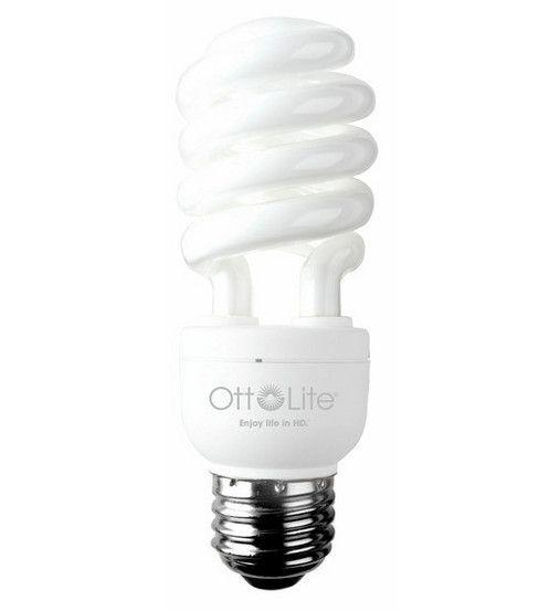 OttLite HD Compact Fluorescent Bulb Edison Base 15W