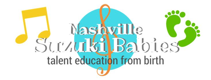 Nashville Suzuki Babies offers early childhood music classes using the Suzuki Talent Education method for babies and toddlers from birth through age 3.