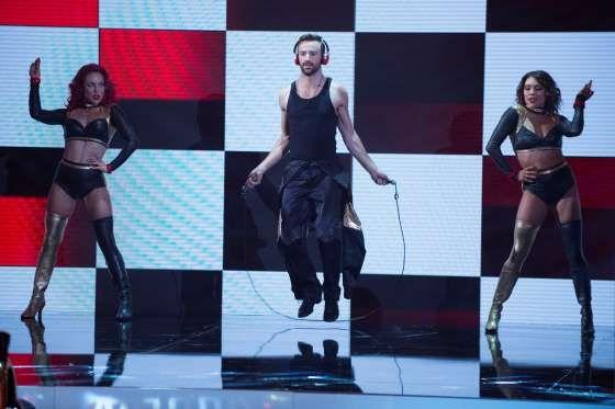 Sharna Burgess, James Hinchcliffe and Jenna Johnson - Eric McCandless/ABC