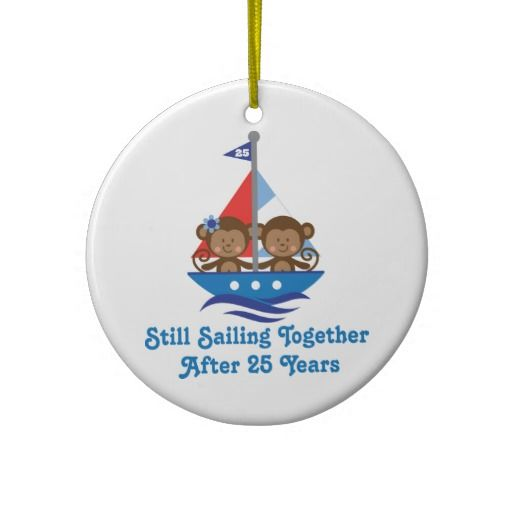 16 best 25th wedding anniversary ornaments images on for Engagement christmas tree ornaments