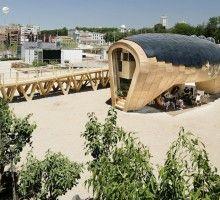 Progetto di una casa che è possibile costruire in un FabLab. Suggerito da Zoe Romano.