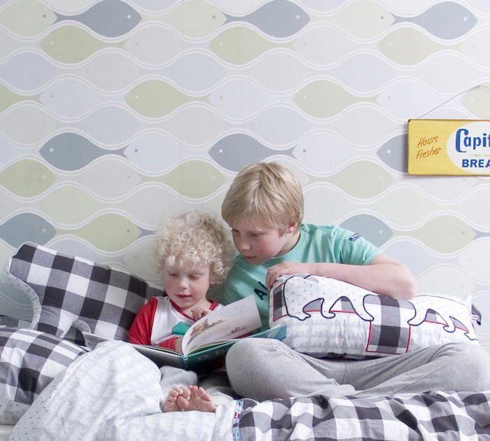 Fotomurales infantiles decora su habitaci n con peces de for Fotomurales infantiles
