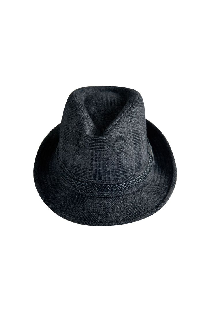 DOWNING. Square fedora hat which really fit for holiday outfit. Catch it in our store now.