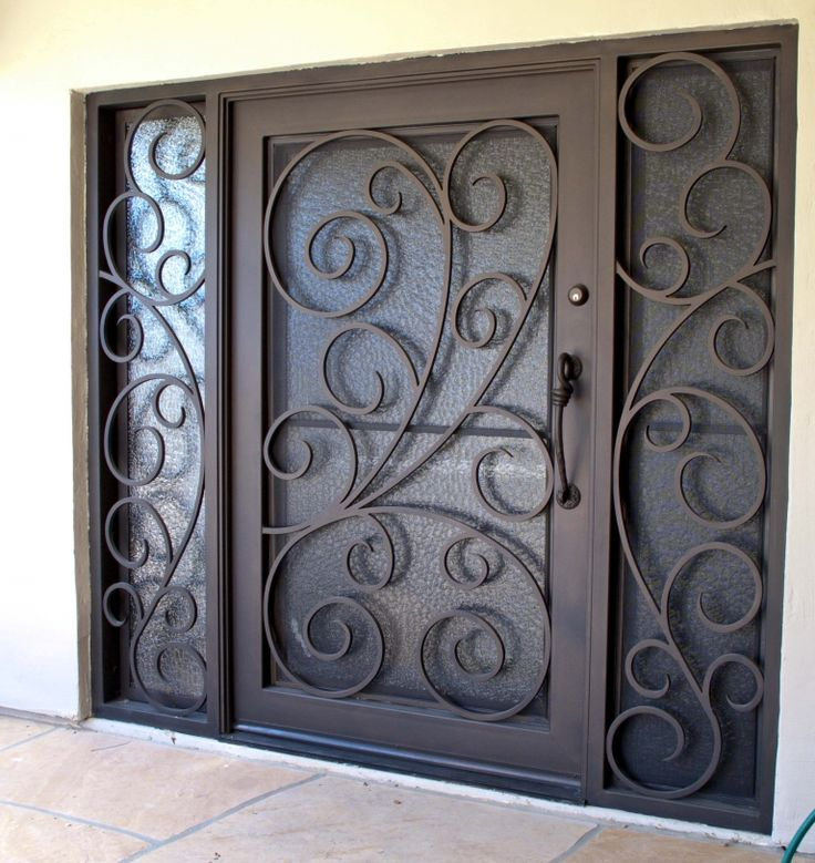 Barcelona Iron Entry Doors #Firstimpression