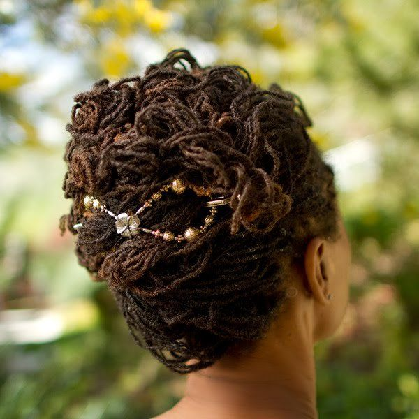 Awesome 1000 Images About Loc Wedding Hairstyles On Pinterest Short Hairstyles For Black Women Fulllsitofus
