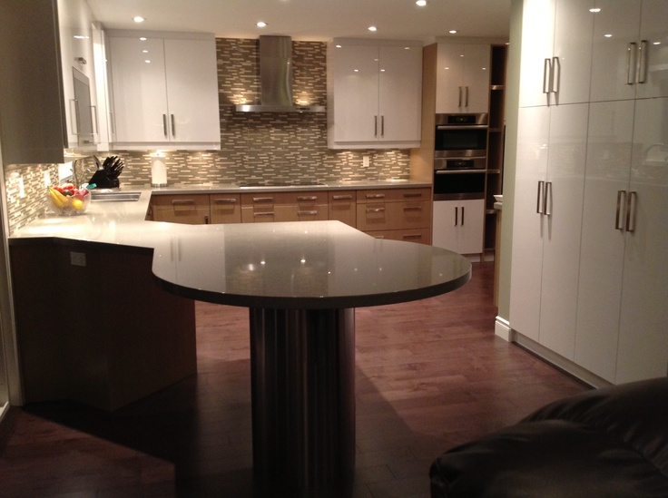 LG Quartz Countertop: Lunar Ice | Counter | Pinterest | Island Table,  Countertop And Kitchens