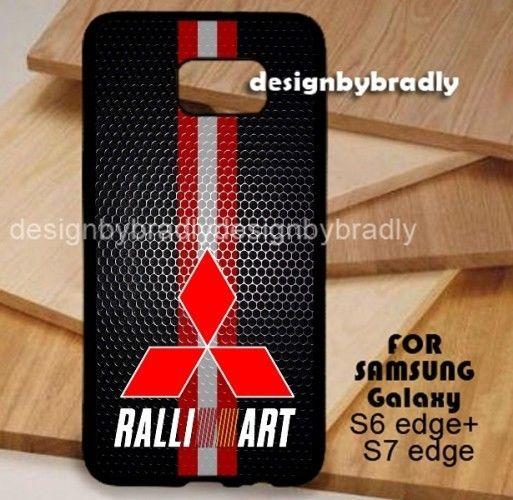 Mitsubishi Logo Ralli Art Samsung Galaxy S3 S4 S5 S6 S7 S8 Edge Plus Case #UnbrandedGeneric