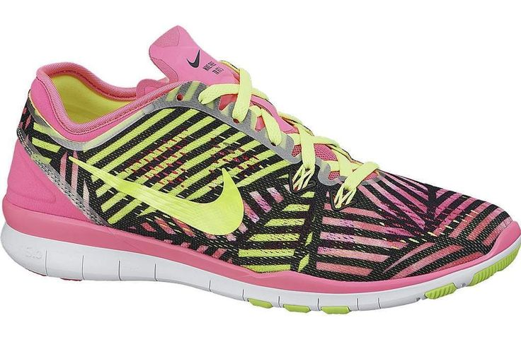 Womens Nike Free 5.0 V5 Tr Fit 5 Print Running Trainers 704695 600