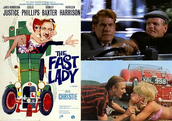 The Fast Lady (1963) Stanley Baxter leads the laughs as Murdoch Troon, a loved up young man learning to drive in a vintage Bentley with chaos ensuing