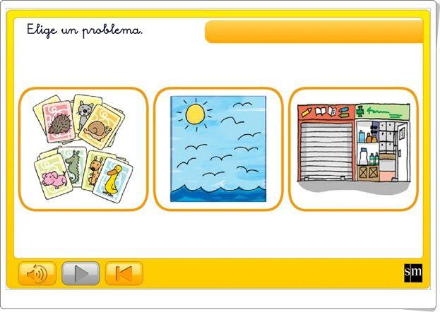 """Juegos educativos de Matemáticas online: """"Resuelvo ..."""