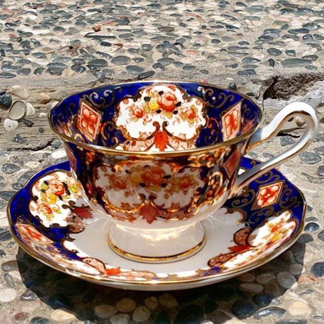 """Vintage Teacup by Royal Albert """"Derby"""""""