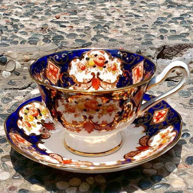 "Vintage Teacup by Royal Albert ""Derby"""
