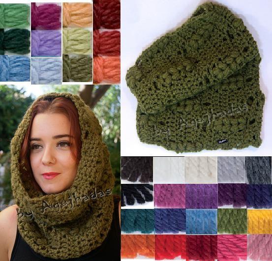 Esta es la variedad de colores que tenemos para el Cuello de lana Espiga. Uno de los mas solicitados.  Animaros a ponerle color al invierno!!!!