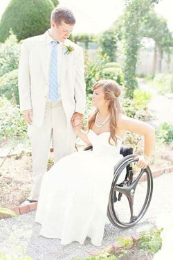 A Wedding, a Wheelchair and No Worries.  >>> See it. Believe it. Do it. Watch thousands of spinal cord injury videos at SPINALpedia.com