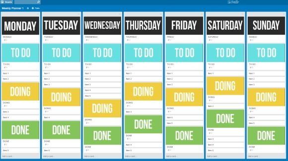 FREE DOWNLOAD: Trello Board Template. 10 Useful Planning Tools for Your Business
