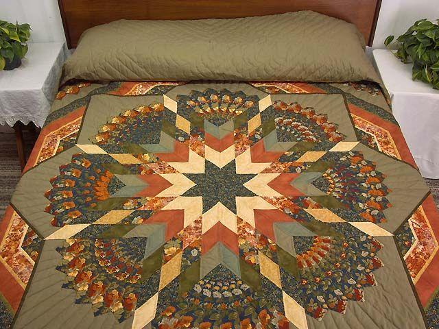 Берта Одеяло - великолепный хорошо сделал амишей одеяла из Ланкастера (hs5333)