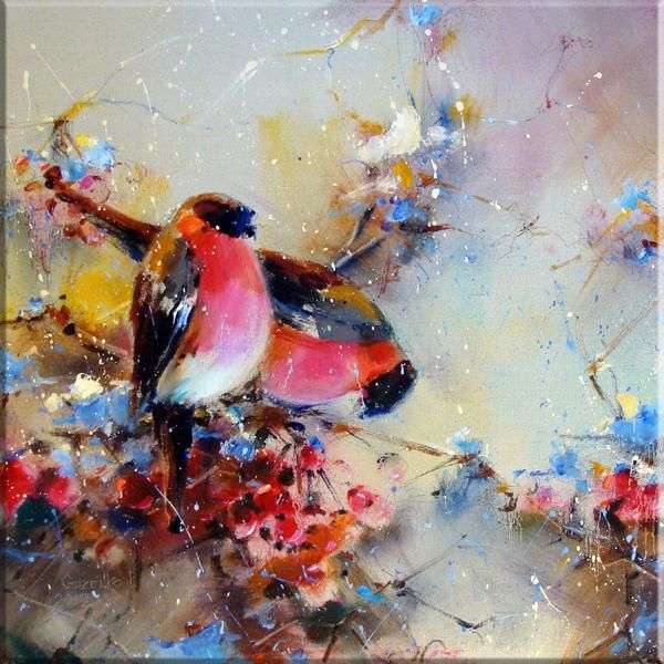 Titmouse birds - © 2012 Pavel Guzenko. Birds! ♥♥♥