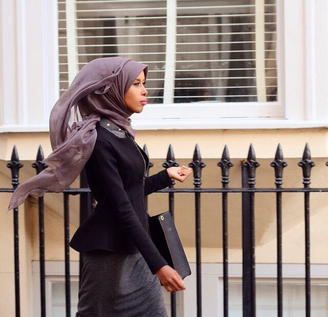 Let the wind blow through your hijab