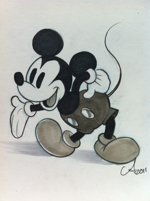 Mickey Mouse will always be my favorite cartoon character.