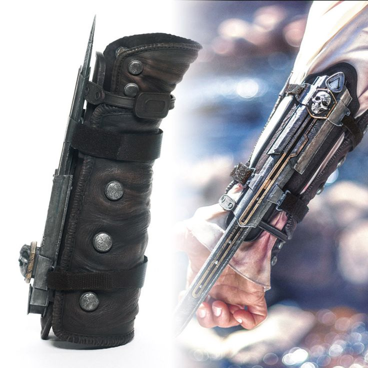 eFunLive - Assassin's Creed 4 Black Flag Pirate Hidden Blade Cosplay Gauntlet, �19.11 (http://www.efunlive.com/assassins-creed-4-black-flag-pirate-hidden-blade-cosplay-gauntlet/)