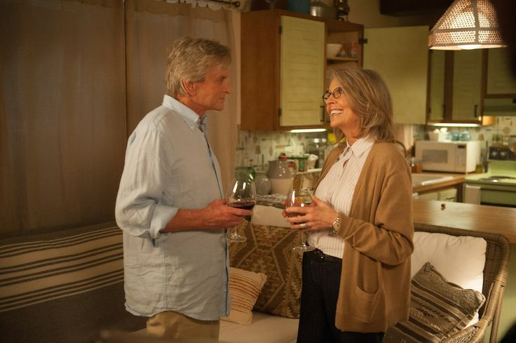 Michael Douglas and Diane Keaton in AND SO IT GOES. ©Clarius Entertainment