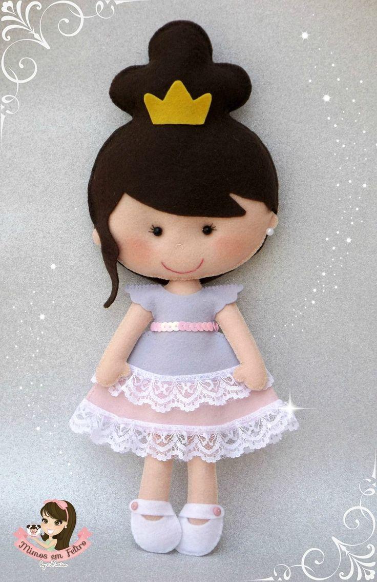 Fieltro muñecas