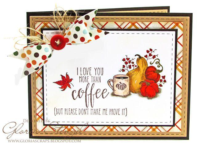 Scraps of Life - Fall Coffee Lovers Hop, Power Poppy, Gloria Stengel Desings