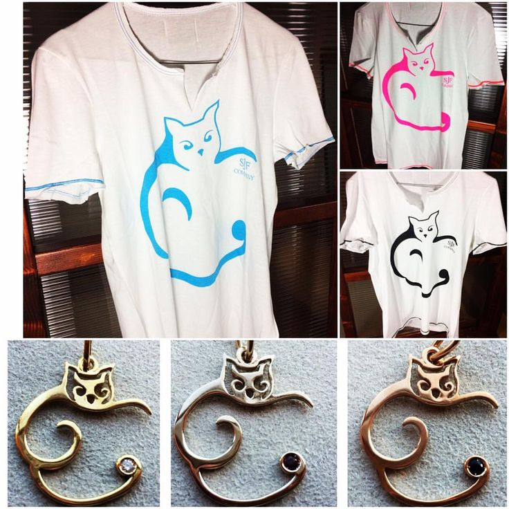 """Mi piace"": 12, commenti: 1 - SJFCompany (@sjfcompany) su Instagram: ""THE YEAR OF THE CAT - Tee&Precious - New arrivals preview #sjfcompany #orocrea #sjfcompanyjewelry…"""