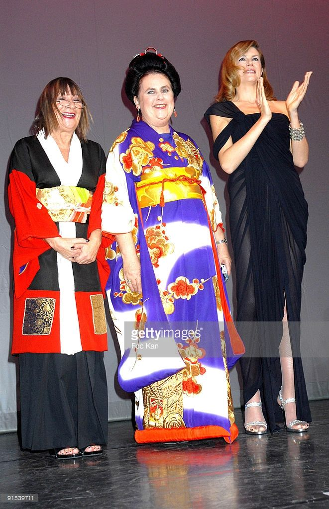 Photo d'actualité : Hilary Alexander, Suzy Menkes and Virginie Mouzat