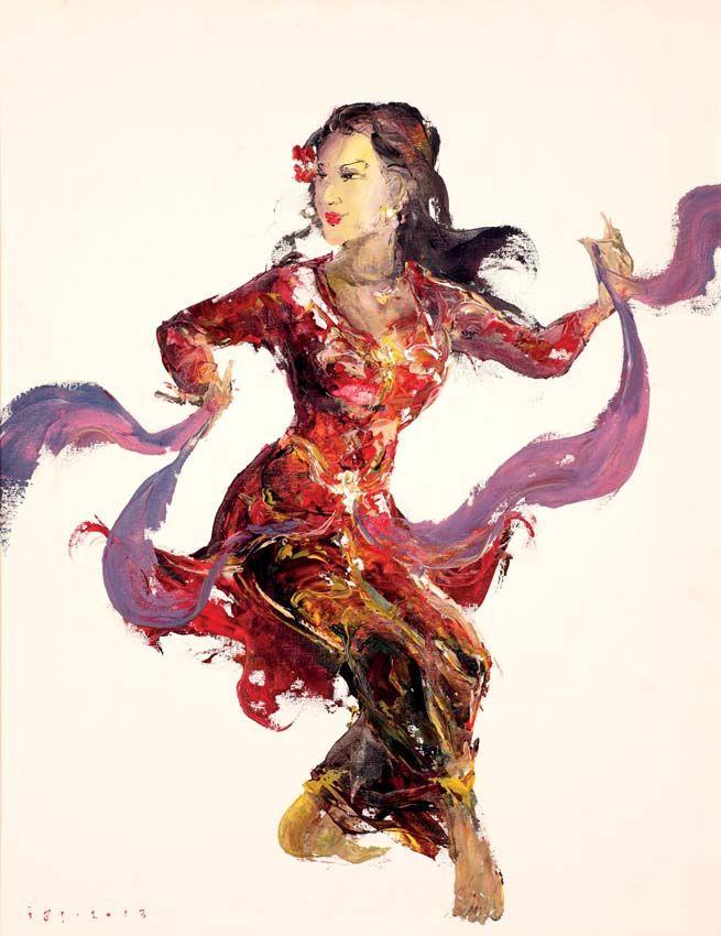 "Ida Bagus Indra ""IBI"" (Bali, 1974) - Behind The Secret Smile, 2013."